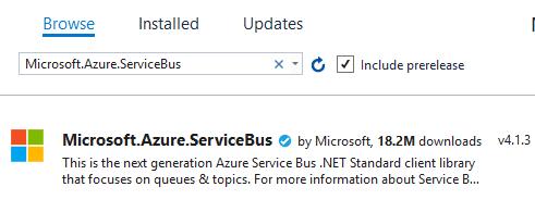azure-servicebus-nuget-details