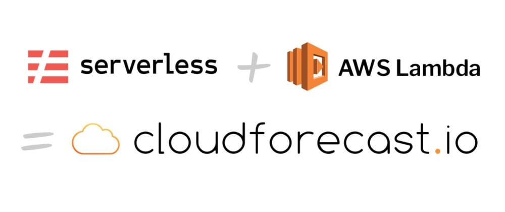Cover image for How we saved over $1,000 by building CloudForecast.io with Serverless and AWS Lambda.