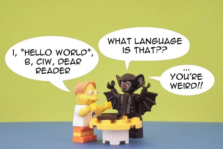Vim as a very powerful keystroke-language!