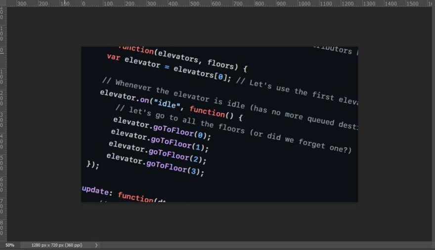 Code Snippet background