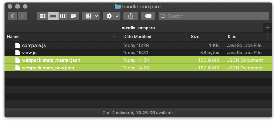 Viewing and navigating huge JSON files (hundreds of