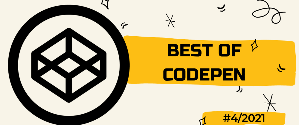 Cover image for Best of Codepen #4
