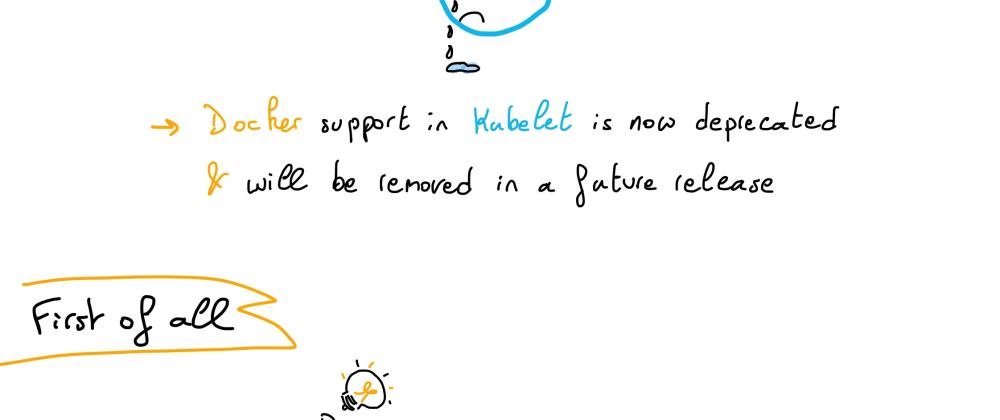 Cover image for Understanding Kubernetes: part 38 – Kubernetes is deprecating Docker