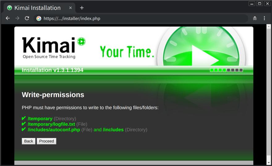 web install