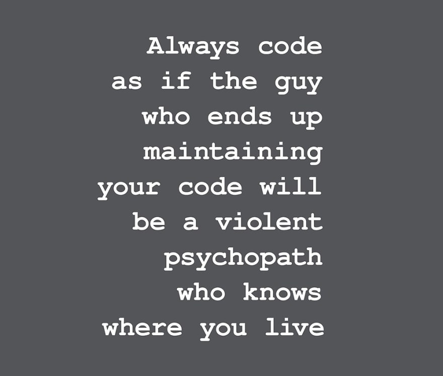 Coding violent psychopath