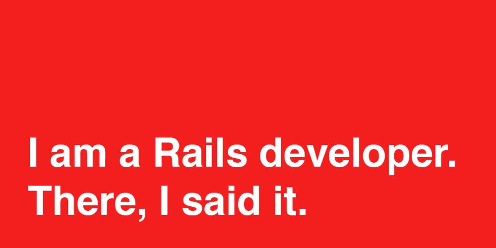 I'm Ben and I am a Rails developer - DEV Community 👩 💻👨 💻