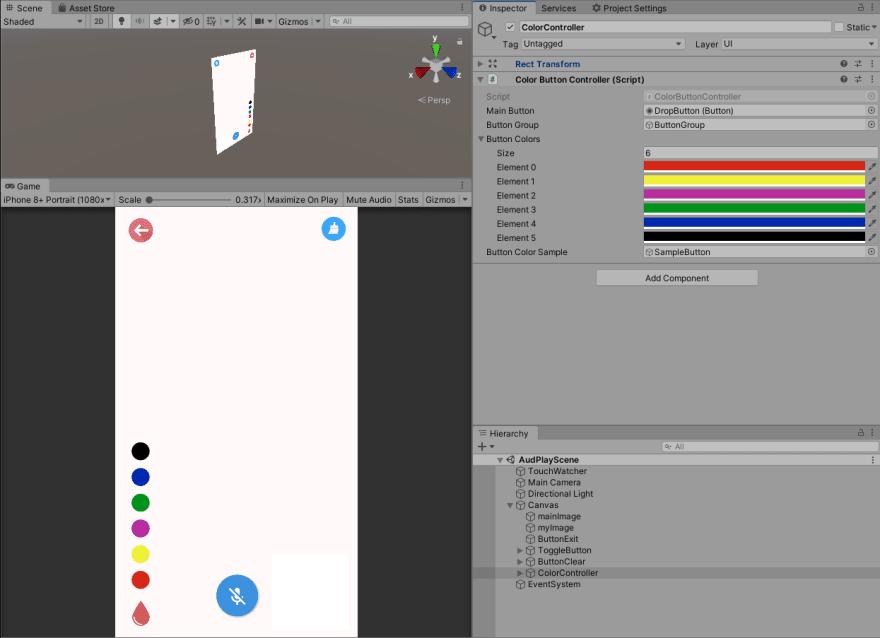 Figure 4.1 Color Controller