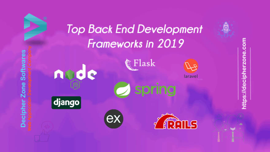 top backend development frameworks