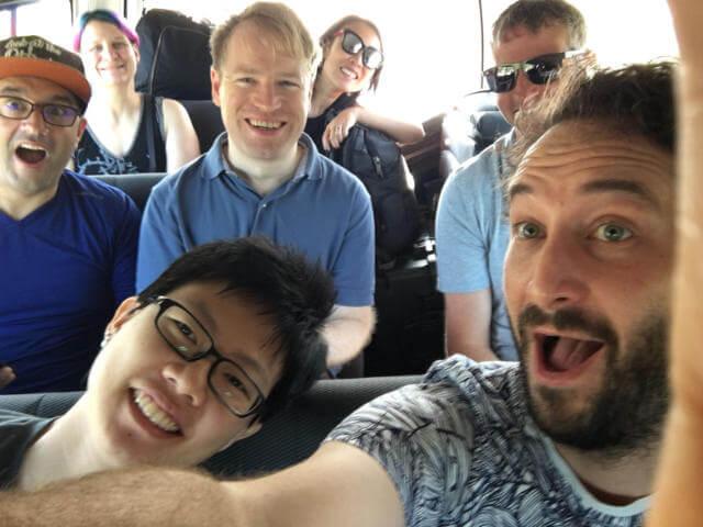 Mozilla Developer Roadshow team in KL