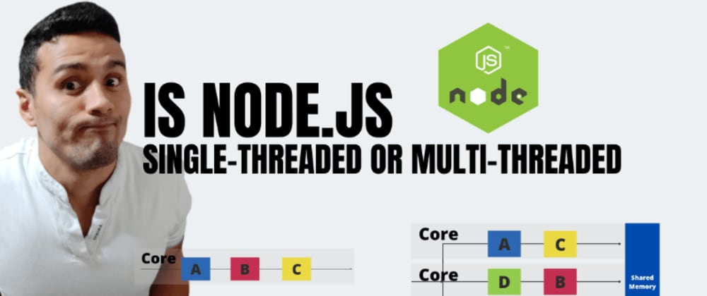 Cover image for Is Node.js Single-Threaded or Multi-Threaded? and Why?