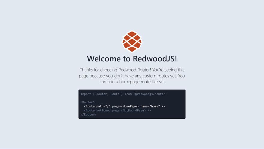 base Redwood app