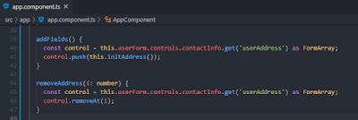 Angular-Reactive-forms-app-component-seventh-code