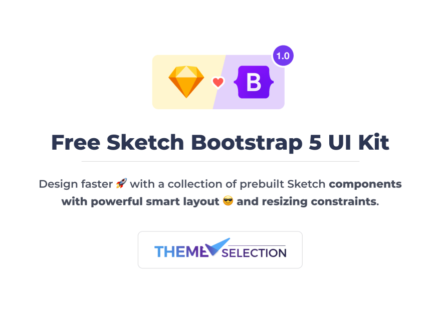 free sketch bootstrap ui kit