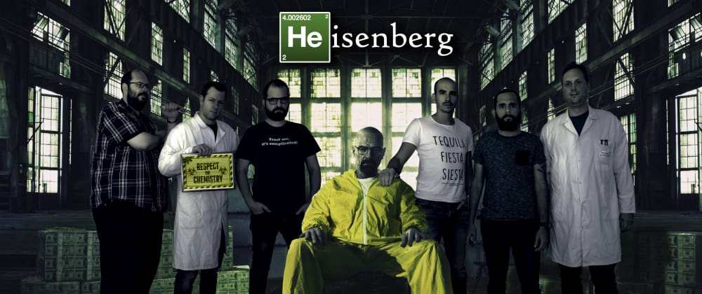 Cover image for Meet team Heisenberg, an inside look in a great team