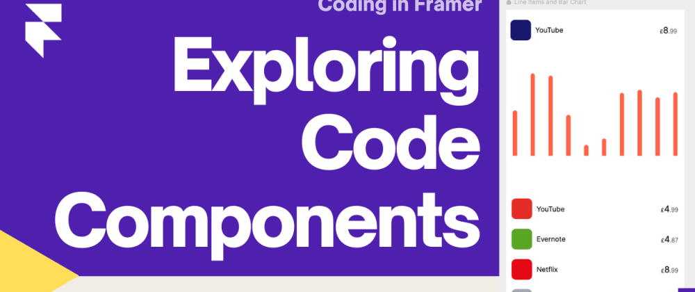 Cover image for First Code Component in Framer Web