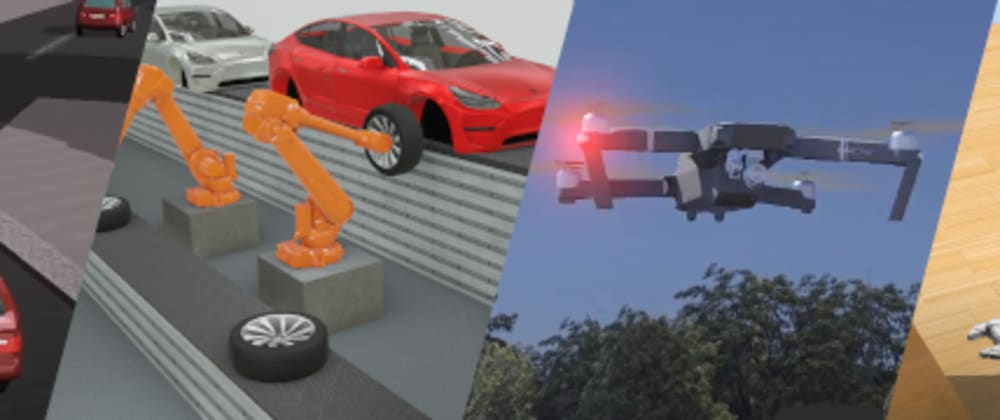 Cover image for Webots robot simulator went open-source