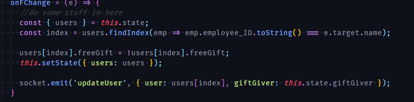 Funky fira code dots