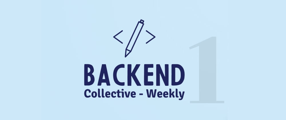 Cover image for Weekly trending Links for Backend Developers, #1