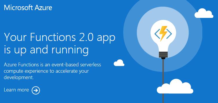Azure Functions 2.0