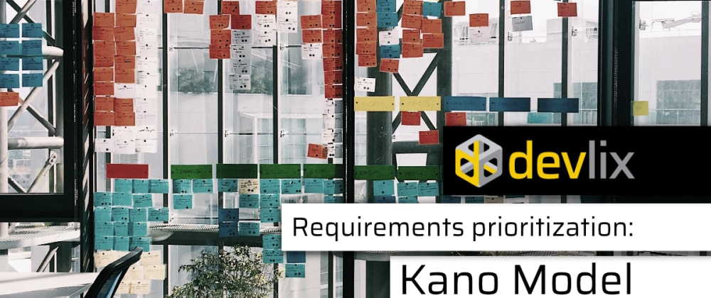 Cover image for Prioritization with the Kano model