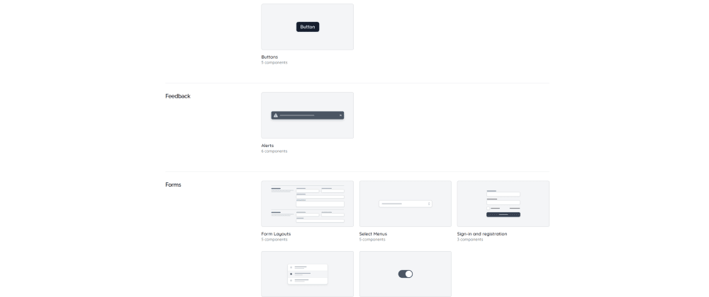Cover image for Simple UI Component Library Project Based On Tailwind UI Components Design