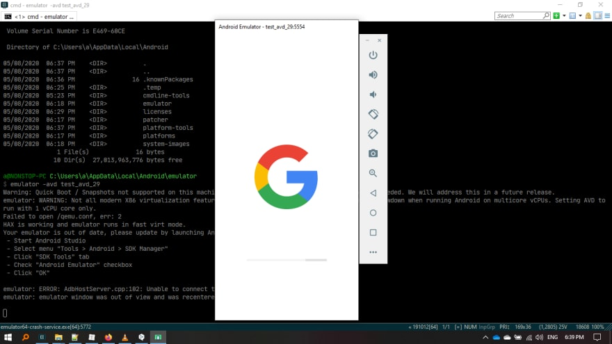 How to install Android emulator without installing Android Studio - DEV