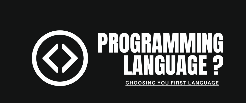Cover image for Which Programming language to Learn?