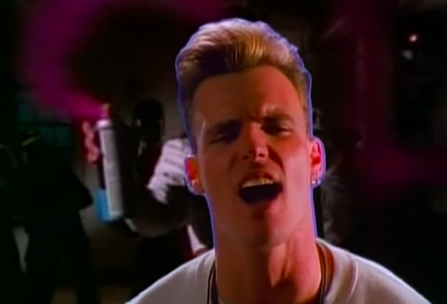 Vanilla Ice: Ice, Ice Baby Video