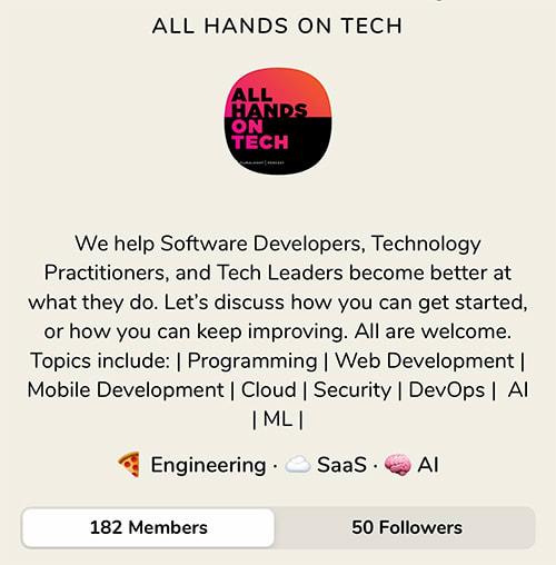 All Hands on Tech