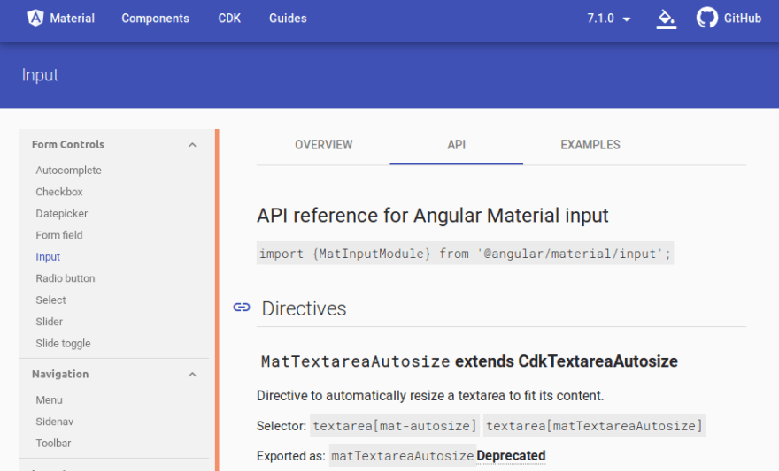 First steps with Angular 8 with angular-cli and Angular Material