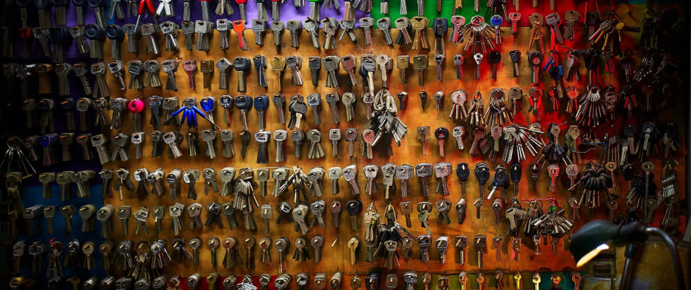 Cover image for Keeping your keys safe in JAMStack