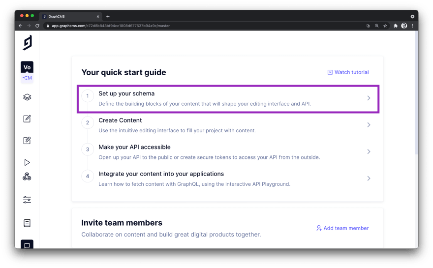 GraphCMS Project Dashboard.png