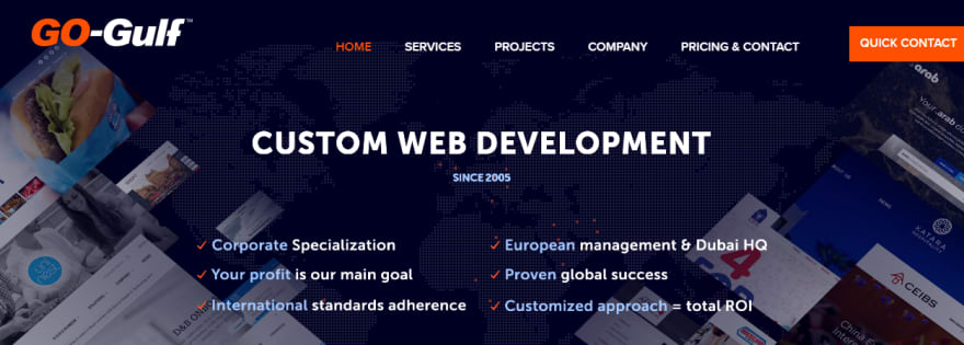 GO-Gulf Dubai Web Development