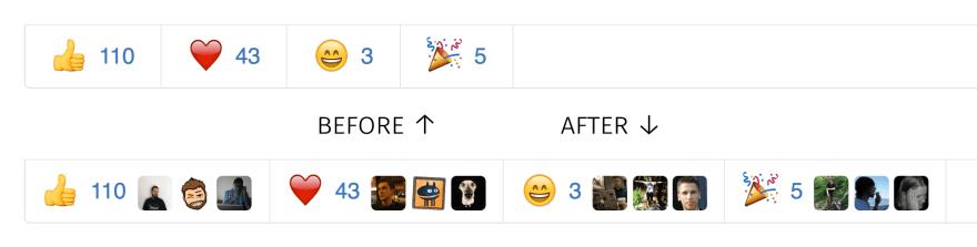 reaction avatars