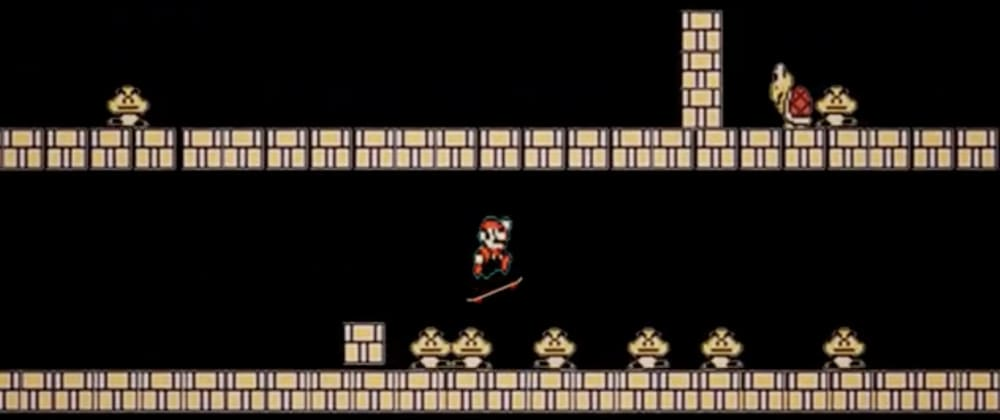 Cover image for How to get the Kickflip powerup in Super Mario Bros. (Bday Game 2)