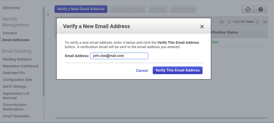 Building a serverless contact form with AWS Lambda and AWS SES - DEV
