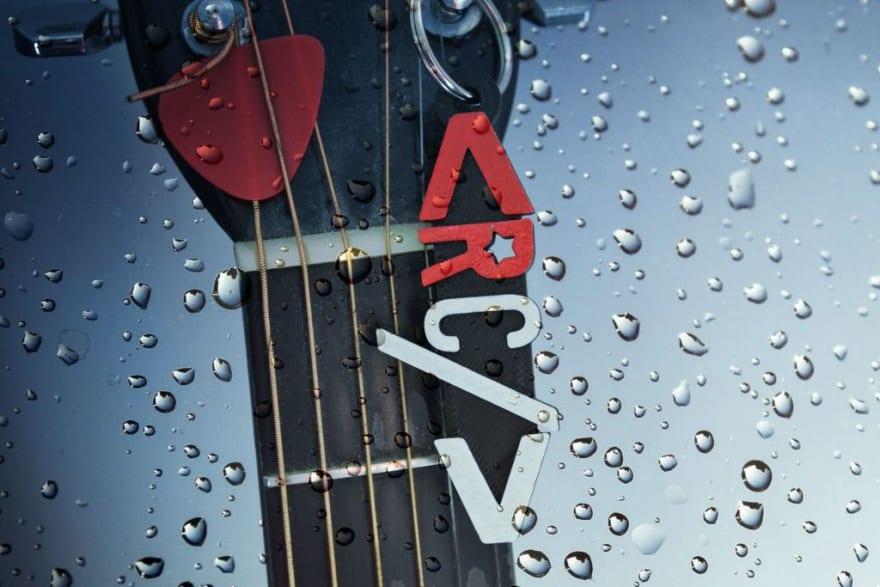 Keychain on Guitar
