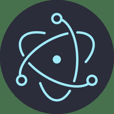 ElectronJS logo