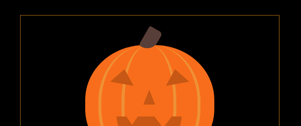 Cover image for Day 10 - I Built A Halloween Pumpkin Cause Fall!