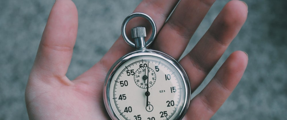 Cover image for Making a Timer in JavaScript