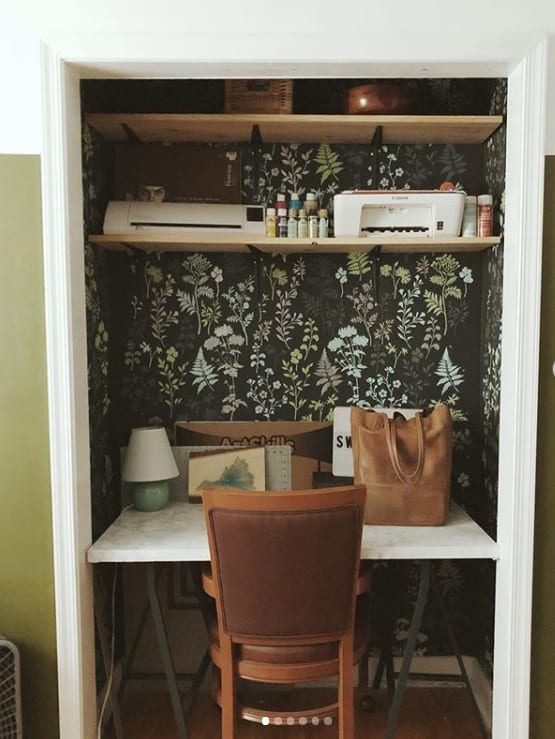 Image of my Closet Desk