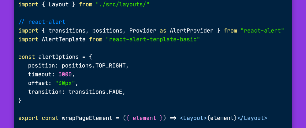 Cover image for Gatsby.js Browser APIs Explained: wrapPageElement vs wrapRootElement