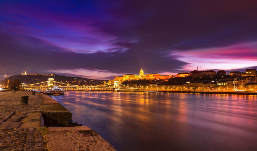 Photo of Budapest by amir hossein bakhtiari from Pexels