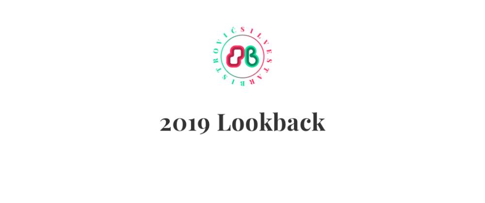 Cover image for 2019 Lookback