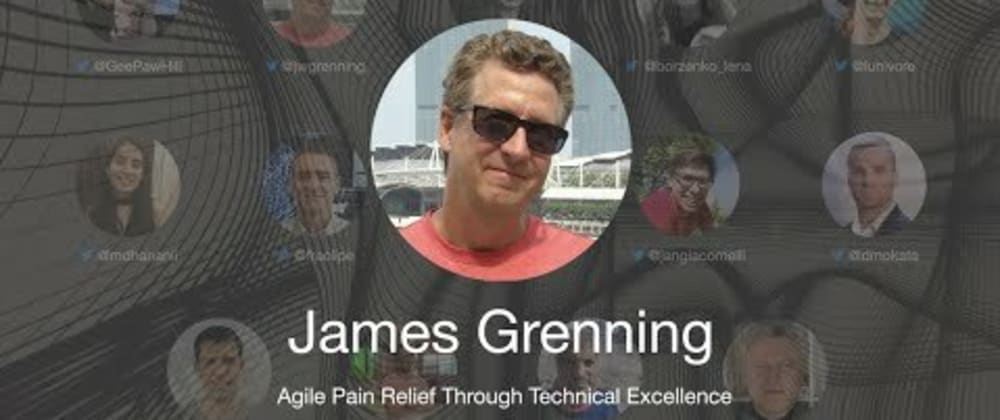 Cover image for TDD Conference 2021 -  Agile Pain Relief Through Technical Excellence - James Grenning