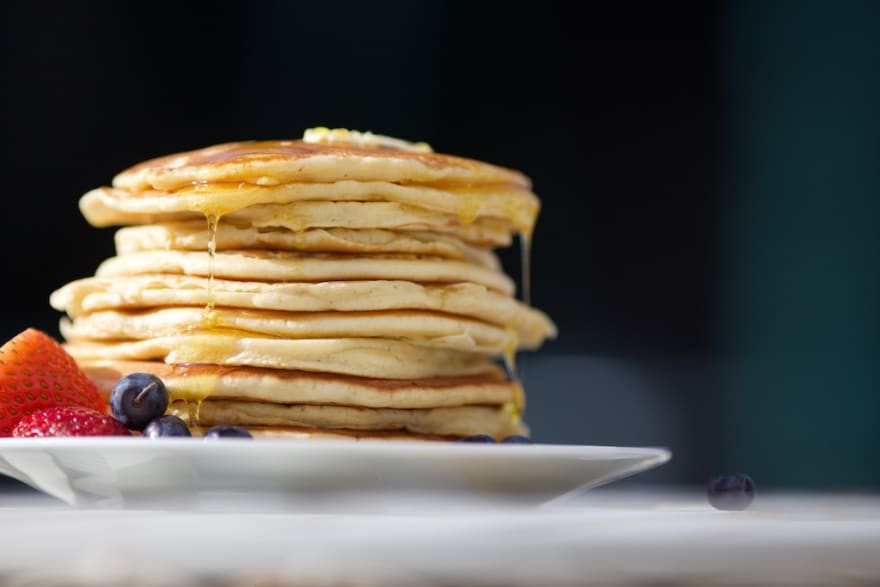 Pancakes. Photo by Luke Pennystan on Unsplash