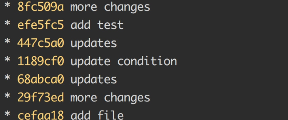 Cover image for How much effort do you put into commit messages?