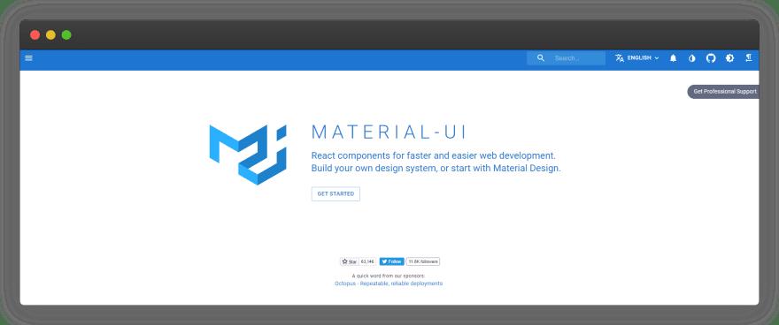 MATERIAL-UI(React)