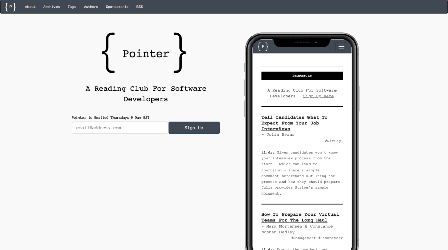 Pointer.io Screenshot