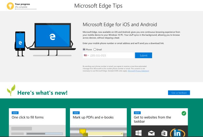 Edge Devtools What's New Page